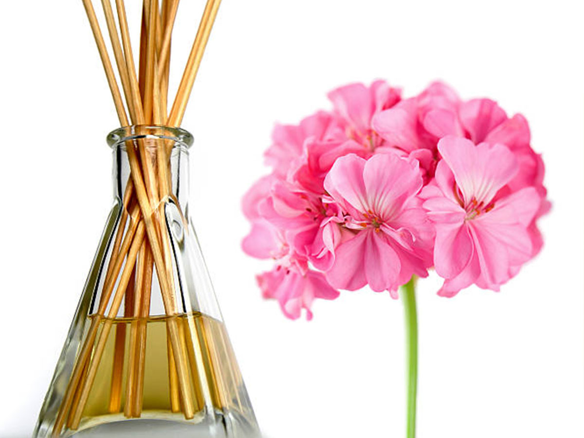 Geranium Essential Oil with Diffuser