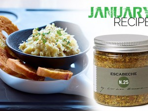January's SandySpice Recipe for Escabeche N.25