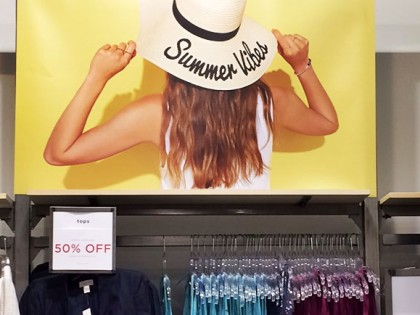 Hot Summer Hits from The Sandy Retail Visual Merchandising Team