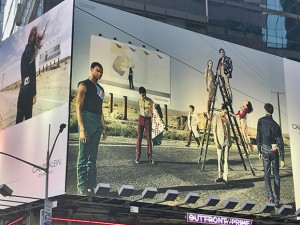 SandyAlexander's Wide & Grand produces Calvin Klein Billboards that Dominate NYC