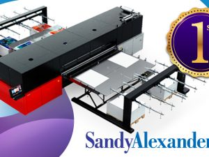Sandy Alexander is First to Install Jeti Tauro H3300 LED Inkjet System in U.S.