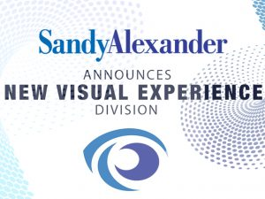 Sandy Alexander Continues Big 2019 With Creation of Visual Experience Division