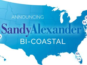 Sandy Alexander, Inc. Completes Bi-Coastal Expansion