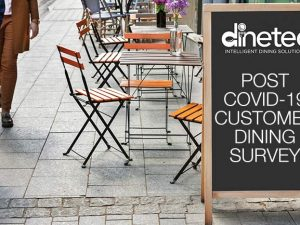Casual Dining Post COVID-19 National Survey Commissioned by dinetec, a Sandy Alexander company